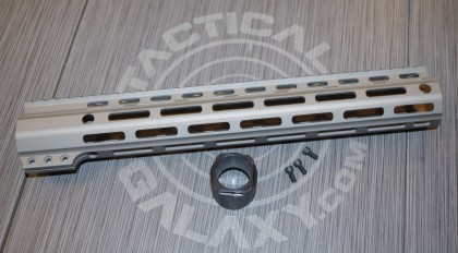 "Tactical Galaxy 13""  Savage stainless Handgaurd"