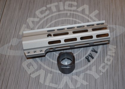 "Tactical Galaxy 7""  Savage stainless Handgaurd"