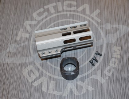 "Tactical Galaxy 4""  Savage stainless Handgaurd"