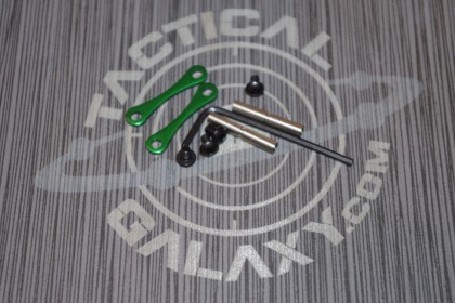 AR15 / AR-10 Green Anodized Anti Walk Hammer Trigger Pins
