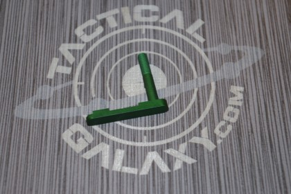 green anodize AR15 mag catch
