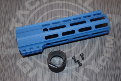 "Tactical Galaxy 7"" NRA BLUE Handgaurd clamp on"
