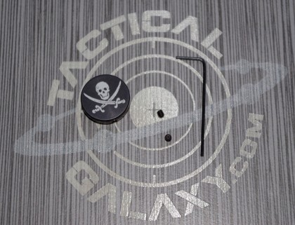 AR15 and AR10 JOLLY ROGER FORWARD ASSIST CAP  Calico Jack