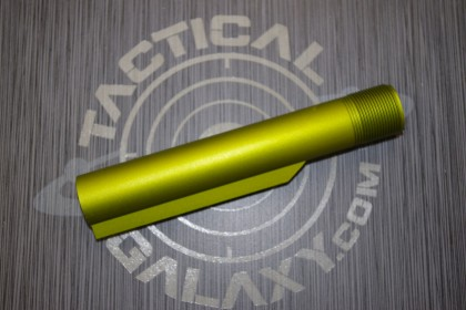 Lime Green Anodized mil-spec  AR15 / M16 / M4  Buffer Extension Tube