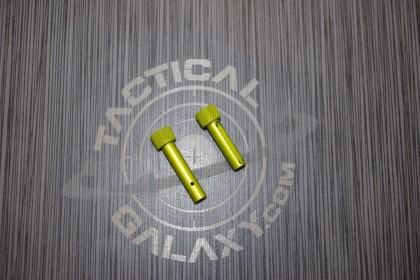 AR-15 Lime Green ANODIZE AR Pins