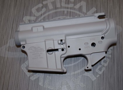 AR15 LOWER AND UPPER COMBO SETS STEEL GREY CERAKOTE