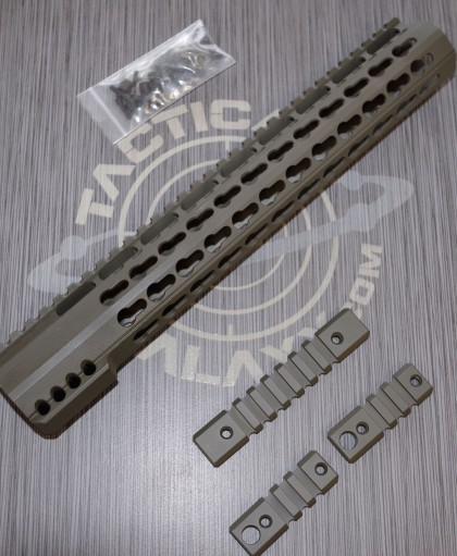 "AR15 ODG ULTRA SLIM KEYMOD HAND GUARD 12"" OLIVE DRAB GREEN"