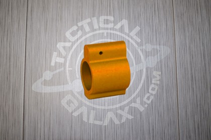 AR-15 ORANGE ANODIZED LOW PROFILE GAS BLOCK