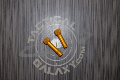 AR15 ORANGE ANODIZE AR Pins