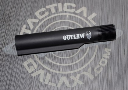 Outlaw Bandit Skull AR15 / M16 / M4 Buffer Extension Tube