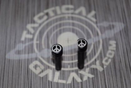 AR-15 Extended Takedown Pins - Peace