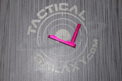 AR-15 PINK ANODIZED MAGAZINE CATCH