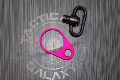 AR15 Pink Anodized QD END PLATE