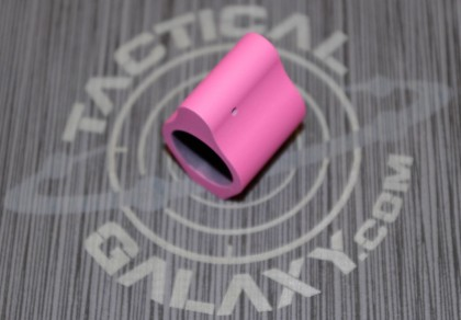 LOW PROFILE GAS BLOCK FOR AR15 PINK CERAKOTE