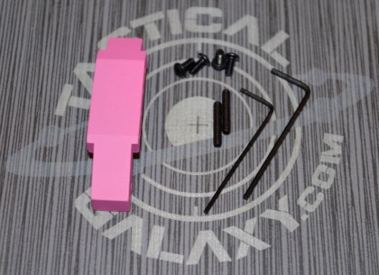 ENHANCED TRIGGER GUARD FOR AR15 PINK CERAKOTE