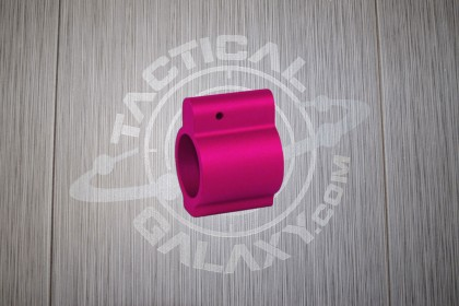 AR-PINK ANODIZED LOW PROFILE GAS BLOCK