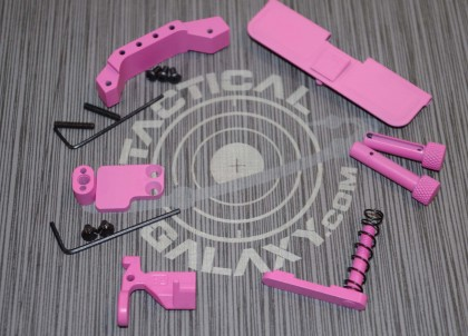 AR15 PINK CERAKOTE 6 PIECE KIT