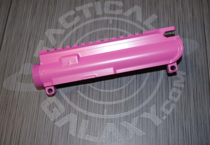 UPPER FOR AR15 PINK CERAKOTE-BLANK