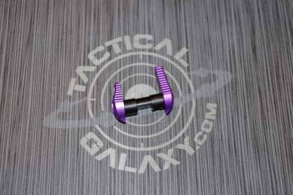AR 15 Purple Anodized AMBIDEXTROUS SAFETY