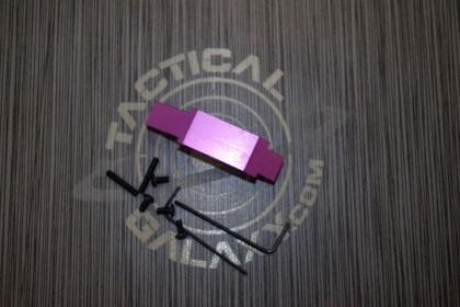 AR15 Purple Passion Anodized enhanced trigger guard