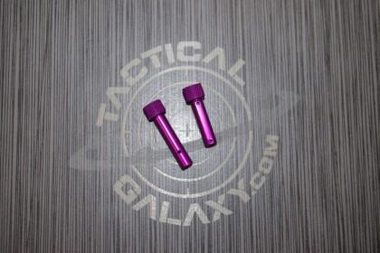 AR15 PURPLE PASSION ANODIZE AR Pins
