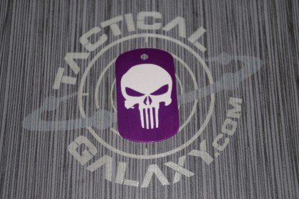 Anodized Punisher Dog Tag