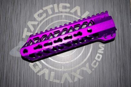 AR15 Purple Anodized ENFORCER 7 INCH HAND GUARD RAIL