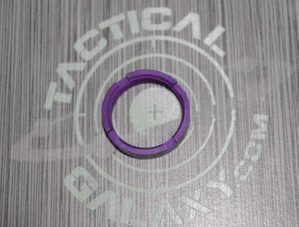 BLOOD MOON PURPLE Anodized MilSpec Castle Nut Locking Nut For 223