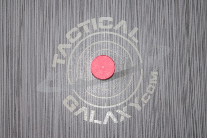 Red Anodized AR-15 / AR-10 FORWARD ASSIST CAP