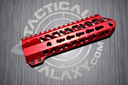 AR15 Red Anodized ENFORCER 7.5 INCH HAND GUARD RAIL