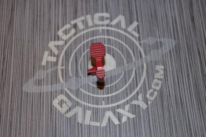 AR15 ENHANCED BOLT CATCH RELEASE LEVER- CRIMSON RED CERAKOTE