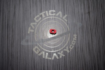 RED Anodized OEM Mag Button