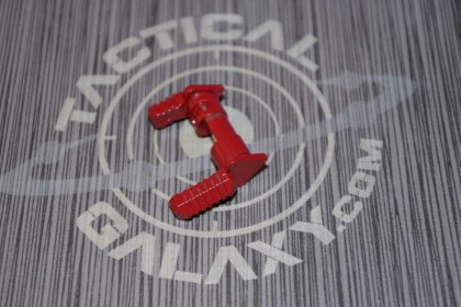 AR15 GEN 2 AMBI SAFETY SELECTOR LEVER  CRIMSON RED CERAKOTE