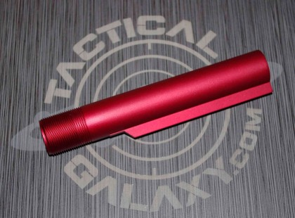 RED Anodized mil-spec  AR15 / M16 / M4  Buffer Extension Tube