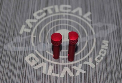Red Anodized  AR-15 Extended Takedown Pins