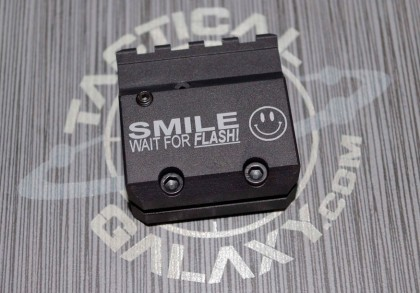 AR-15/M4 SMILE WAIT FOR FLASH ADJUSTABLE GAS BLOCK