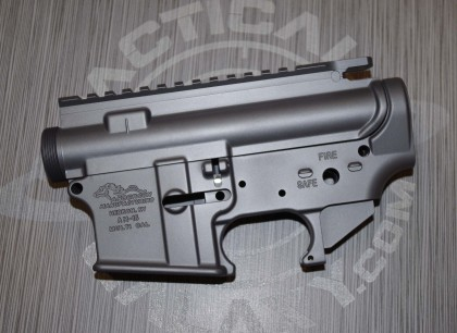 AR15 LOWER AND UPPER COMBO SETS SNIPER GREY CERAKOTE