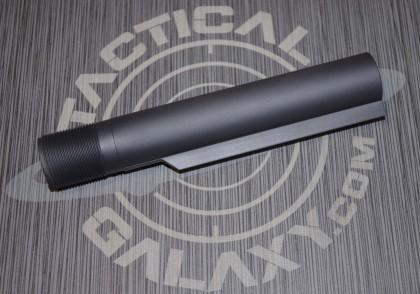 STEATH GREY AR-15 mil-spec cerakote buffer tube 2