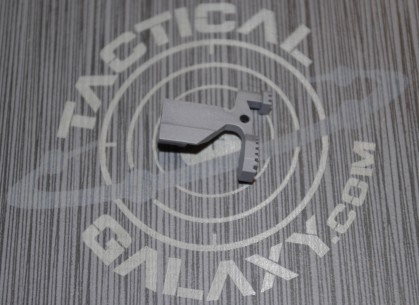 AR15 ENHANCED BOLT CATCH RELEASE LEVER STEEL GREY CERAKOTE