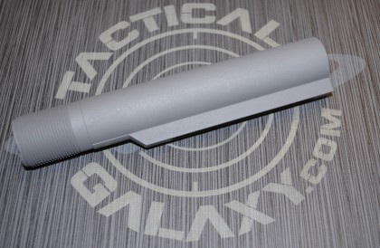 BUFFER TUBE FOR AR15 STEEL GREY CERAKOTE  MIL-SPEC