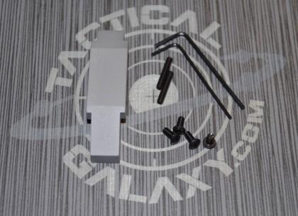 ENHANCED TRIGGER GUARD FOR AR15 AND AR10  STEEL GREY CERAKOTE