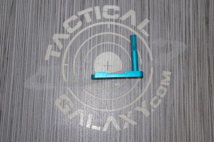 AR-15 TEAL ANODIZED MAG CATCH