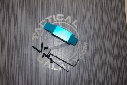 AR15 Teal enhanced trigger guard