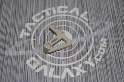 AR15 extended charging handle latch- FDE CERAKOTE