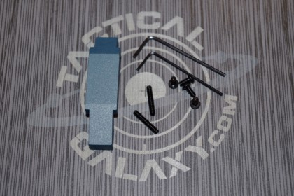AR15 ENHANCED TRIGGER GUARD TITANIUM BLUE CERAKOTE
