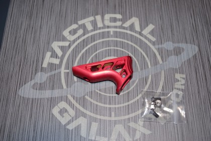 AR15 Red Anodized Enforcer Mini Angled Foregrip