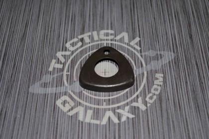 ".750"" Triangle HANDGUARD CAP BLACK"