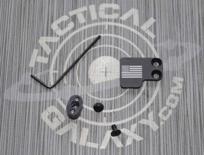 AR-15 2PC Oversized Magazine Extended Release Button - US Flag