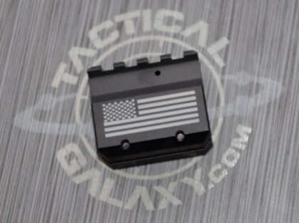 AR-15/M4 USA FLAG ADJUSTABLE GAS BLOCK U.S.A.