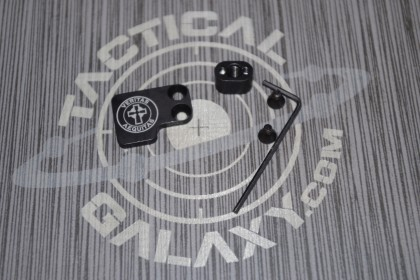 AR-15 2PC Oversized Magazine Extended Release Button - Veritas Aequtas